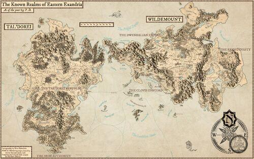 Wonderdraft - Eastern Exandria