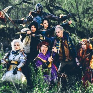 The cast of <i>Critical Role</i> 50<sup>th</sup> episode