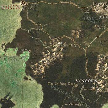 Daggerbay Mountains