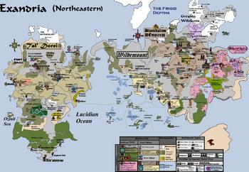 Northeastern Exandria, Version 20,1