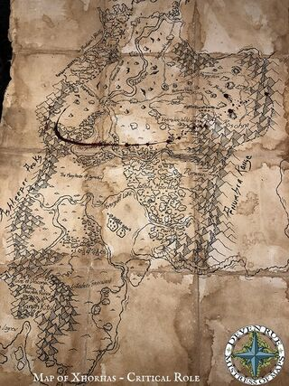 Xhorhas map