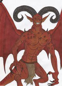 Horned Devil - Callum Lyall