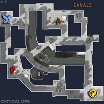 Canals map