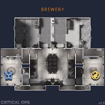 Brewery map
