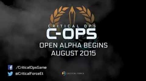 Critical Ops Web Open Alpha Trailer