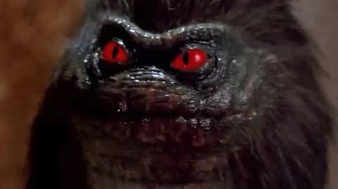 Critters clip (1986) April and Steve in the barn-0