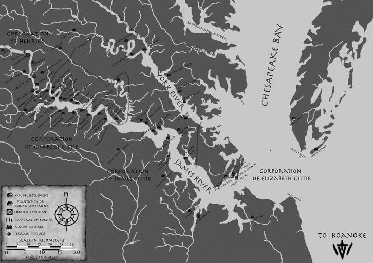Project croatoan 1619-greyscale