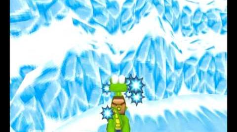 Croc Legend of the Gobbos (PC) - Island 2 Level 4 (I snow him so well)