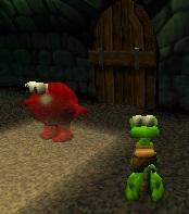 Inflated Creature Door