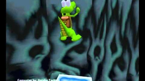 Croc Legend of the Gobbos (PC) - Island 2 Secret 2 (Ice Bridge to Eternity)