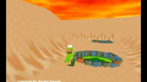 Croc Legend of the Gobbos (PC) - Island 3 Level 4 (Sand and Freedom)