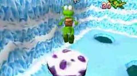 Croc Legend of the Gobbos (PSX) - Ice World