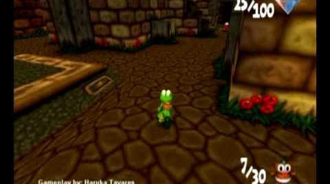 Croc 2 (PC) - Inca Village - Save 30 Gobbo Babies! (Part 1 2)