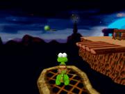 Croc glitched platform