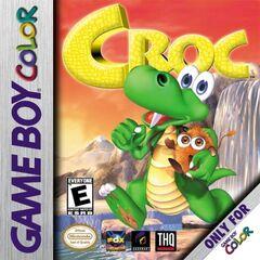 Croc Game Boy Color cover