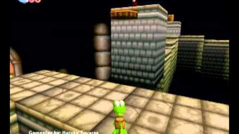 Croc Legend of the Gobbos (PC) - Island 4 Level 5 (Swipe Swiftly's Wicked Ride)