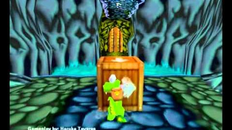 Croc Legend of the Gobbos (PC) - Island 2 Level 1 (The Ice of Life)