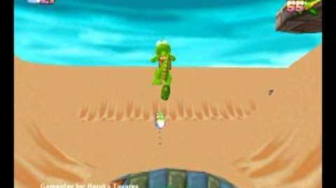 Croc Legend of the Gobbos (PC) - Island 3 Level 1 (Lights Camel Action)-0