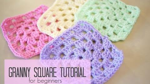 Video Crochet How To Crochet A Granny Square For Beginners Bella