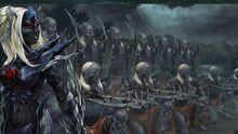 Dark elves army
