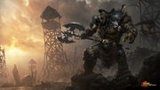 Orc overlord by 88grzes-d7ysbn9