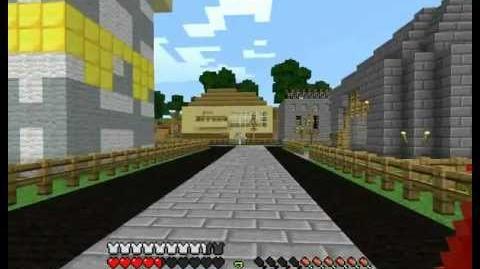 Cronus Minecraft Server - Exploring Town
