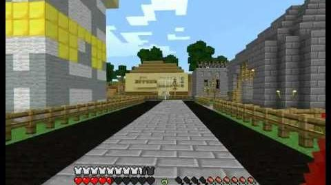 Cronus Minecraft Server - Exploring Town