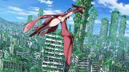 Cross Ange ep 14 Ange and Dragon Vivian in Japan