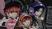 Cross Ange ep 24 Vivian, Mary and Nonna