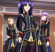 Cross Ange ep 19 Diamond Rose Knights