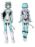 Marika Uniform Front Back