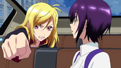 Cross Ange ep 21 Ange and Momoka Close-up Extended Version