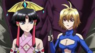 Cross Ange ep 15 Salamandinay and Ange Arrives