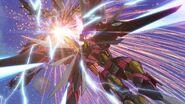 Cross Ange ep 25 Salamandinay's Enryugo attacks Raziya