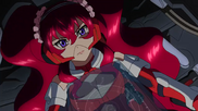 Cross Ange ep 4 Hilda piloting Glaive Hilda Extended Version