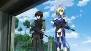 Cross Ange ep 14 Ange and Tusk