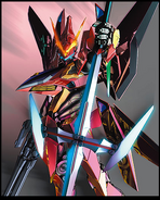 Cross Ange DVD Vol. 3 Concept Art