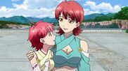 Cross Ange ep 16 Lamia and Vivian