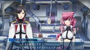 Naomi and Alektra Gameplay Scene in Cross Ange TR.