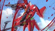Cross Ange ep 1 Glaive Hilda destroy mode