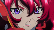 Cross Ange ep 13 Hilda Close-up Extended Version