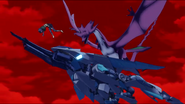 Cross Ange ep 3 Schooner-Class Dragon attacks Miranda Extended Version