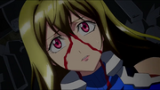 Cross Ange ep 3 Ange Shocked Close-up Extended Version