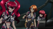 Cross Ange ep 20 Hilda, Rosalie and Vivian Extended Version