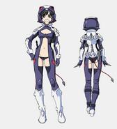 Miranda Uniform Front Back