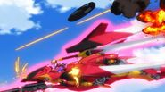 Cross Ange ep 13 Villkiss Michael mode flight mode
