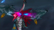 Cross Ange ep 24 Victoria slaughtering Galleon-Class Dragon Extended Version