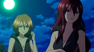Cross Ange ep 17 Hilda and Rosalie Extended Version