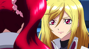 Cross Ange ep 23 Ange and Hilda Close-up Extended Version