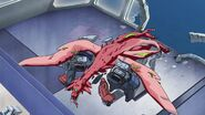 Cross Ange ep 11 Dragon shot dead